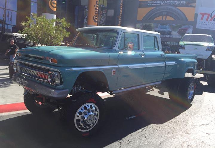 SEMA Chevy Truck
