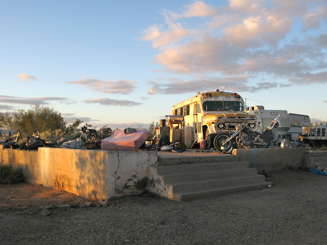 Slab City Shelters Accommodations Services Free Rv