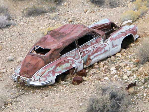 death valley car