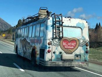 Big Heart Circus Bus