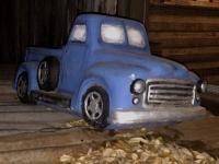 Luckenbach Texas Old Truck