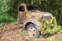 Old Ghost Truck - Westfir, Oregon