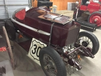 Old Race Car Carbon County Museum