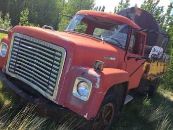 Old International Truck at Burwash Landing, Yukon