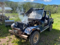 Old Blue Jeep