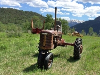 Vickers Old Farmall Tractor