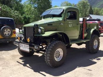 Old Army Vehicle Lake City, CO Parade