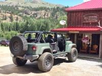 Ruggedized Off-Road Jeep