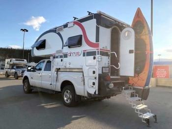 Whitehorse Walmart RV Boondocking Camper