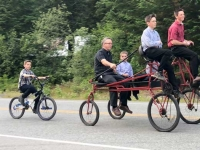 Hyder, Alaska Family Bicycle Ride