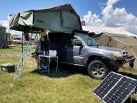 Rocky Mountain Overlander Rally Truck Tent Camper