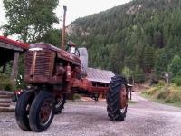 1940s Farmall B Farm Tractor