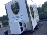 Queen of Thrones Portable Toilet Trailer