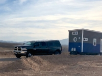 Tiny Home towed to Lake Mead, Nevada
