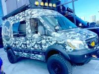 SEMA 2019 Mercedes Overlander Van