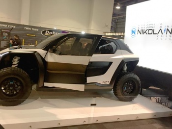SEMA 2019 Auto Show Electric ATV