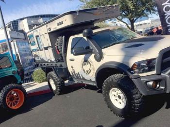 SEMA 2019 Auto Show Overlander Truck