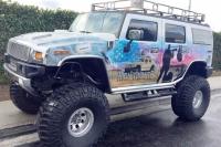 East LA Warrior Tribute Hummer