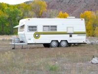 Old School Open Season Wyoming Hunting Season Trailer
