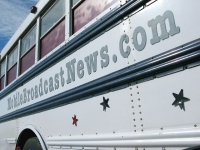 Mobile Broadcast News Nomadjik Media Bus