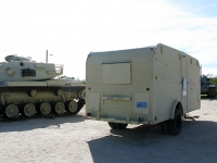 Military Travel Trailer at General Patton Museum Tank Garden