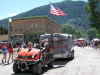 Lake City Colorado Fourth of July Parade Prospector