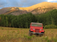 Upper Vickers Ranch Workamping Jeep