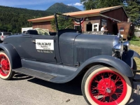 Skagway Distillery Classic Car