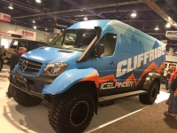 Cliffride Van Conversion at SEMA 2018