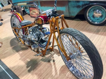 Laid Back Custom Chopper at SEMA 2018