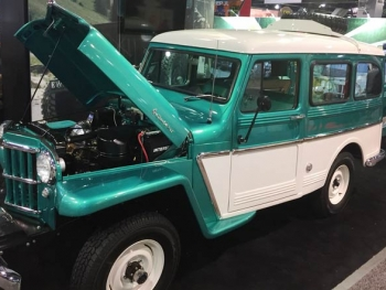 Classic 4WD Truck at SEMA 2018