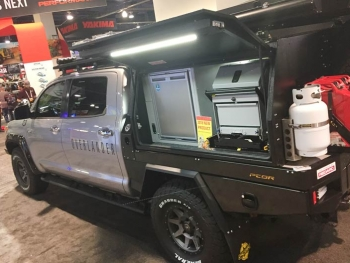 Overlander custom truck conversion at SEMA 2018