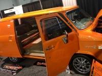 Vangerine custom van build at SEMA 2018