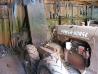 Rein Driven Power Horse Tractor with no Seat