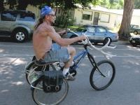 Horny Bike Rider at 2010 Tour de Fat