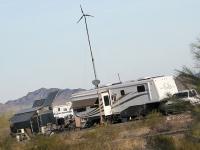 Quartzsite Off Grid RV Encampment