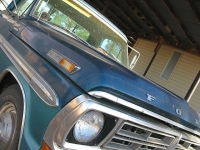 1971 Old Blue Ford 250 Ranger XLT