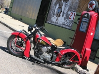 Bisbee Arizona Classic Indian Motorcycle