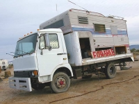 Slab City Resident Homemade RV Rig For Sale