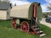 The First RV -  RV Sheep Wagon Carbon County Museum