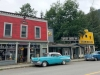 Classic Cars on Old Town Stewart BC Main Street
