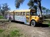 Peace Bus at the BioLiberty Compound on Bayou Liberty