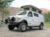 Sportsmobile Adventure van Conversion at Capitol Reef Campground