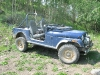 Old Blue the Vickers Ranch AMC Jeep at Lake Emma Jean