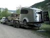 Airstream Base Camp Trailer on Trailer