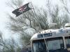 Big Bertha Pirate Bus on the Slabs