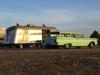 Classic Wagon and Travel Trailer, Marathon TX