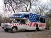 Stars and Stripes Custom RV Camping Rio Grand Village Big Bend TX