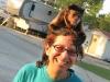 April, Crested Kapuchen Monkey and Rene