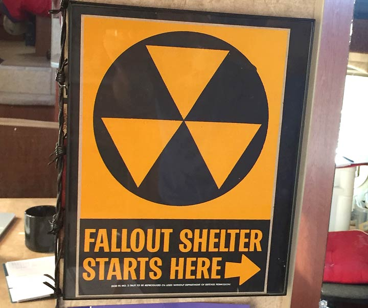 Radiation Sign RV Art